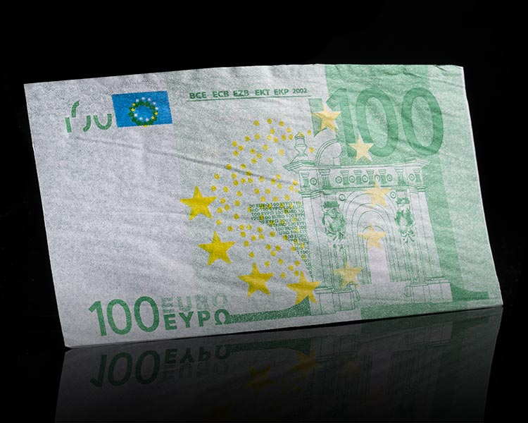Power Papers 100 Euro Detailansicht